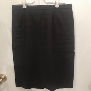 J. Crew No. 2 Pencil Skirt in Cotton Twill Size 2